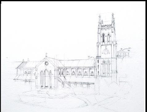 St. John Cathedral, Pre-war joh - mwchau | ello