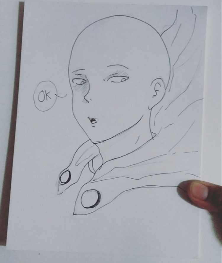 Onepunchman, anime, Fanart, manga - artistrose | ello
