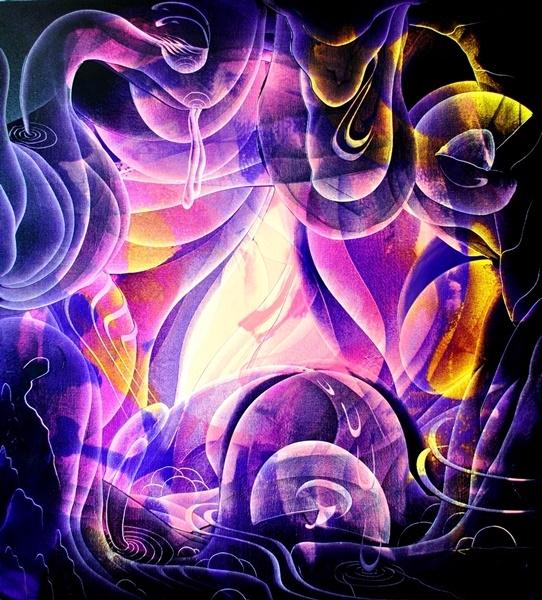 Light night, oil canvas, 39,3 3 - mauriciopazviola | ello