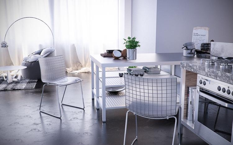 Kitchen design modeled rendered - salahbz | ello