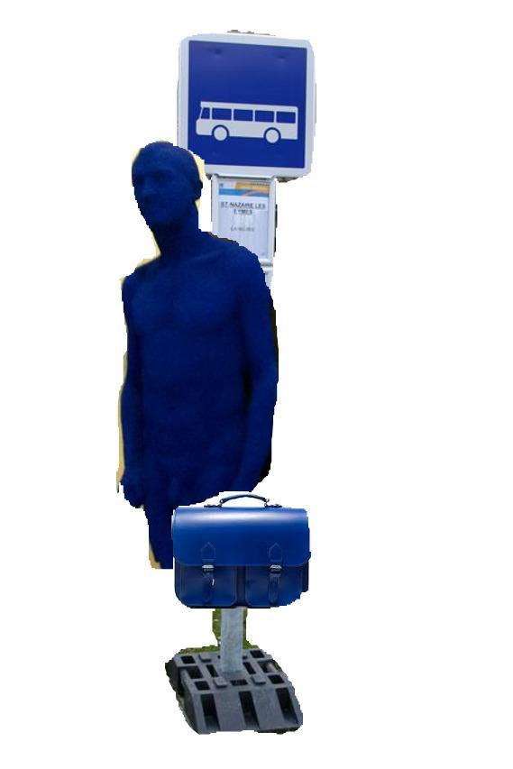Blue monday digital art Mathie - rainermaria | ello