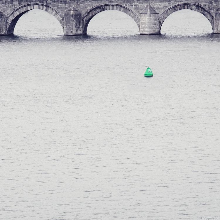 Green. Bridge Maas, Maastricht  - erik_schepers | ello