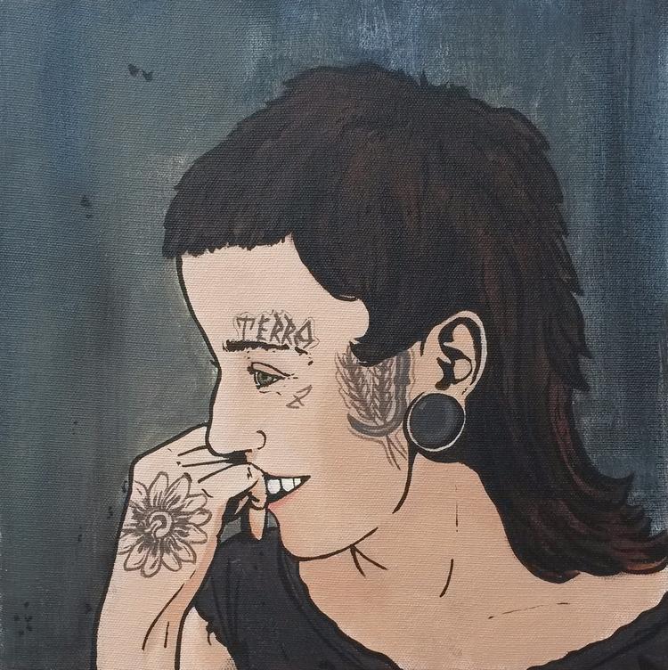 Farmers Punk Acrylic canvas - diogorustoff | ello