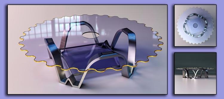 table design - 3d, industrialdesign - ke7dbx | ello