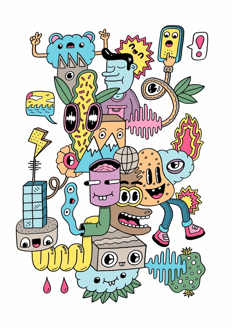 illustration, artwork, graphicdesign - douglascavanna | ello