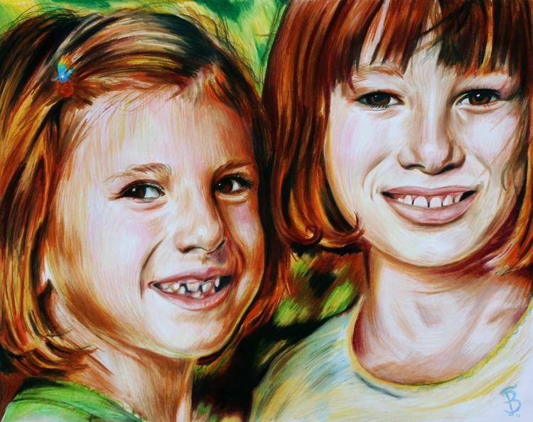 Anna Tressa (colored pencil dra - skyler_brown_portraits | ello
