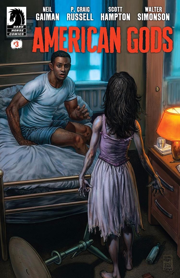 American Gods Dark Horse Comics - oosteven   ello