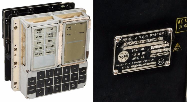 Apollo Guidance Computer Displa - valosalo | ello