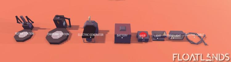 Electricity starter pack newly  - floatlands | ello