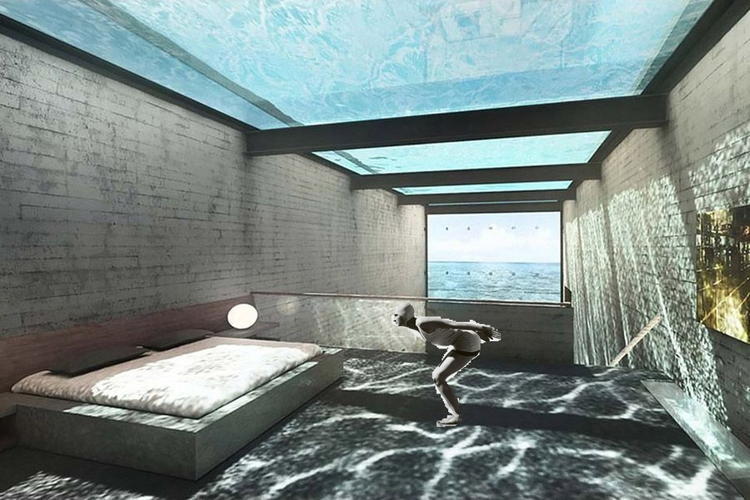 Swimming pool dreaming Mathieu  - rainermaria | ello