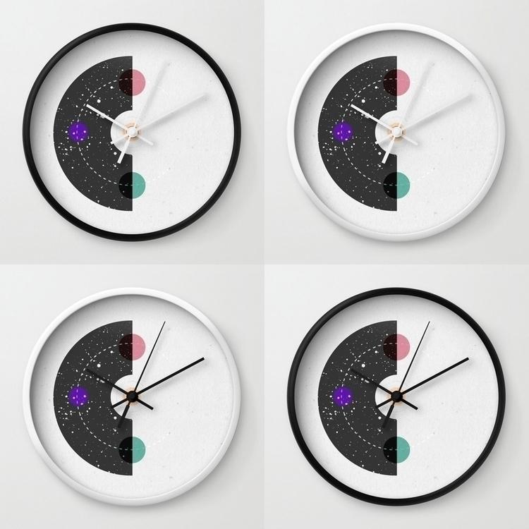 Cosmic clocks time travelers  - illustration - llanwafu | ello
