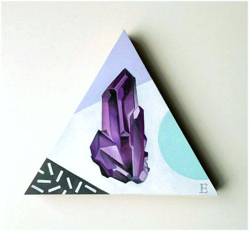 Gems triangular wooden block pa - emmamount | ello