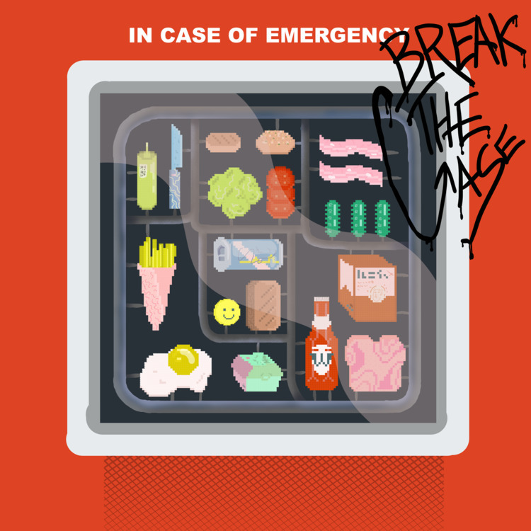 emergencycase, break, glass, burgerkit - ezuthe1st | ello