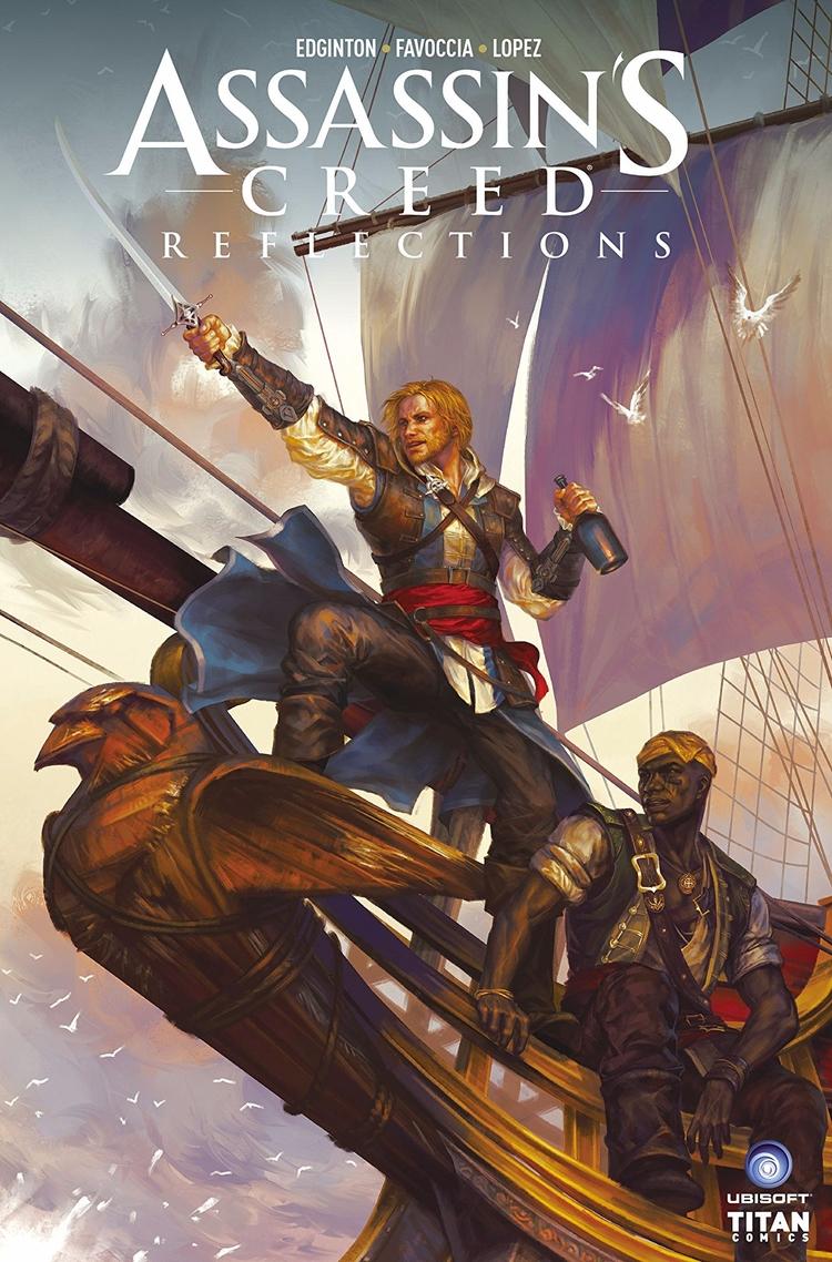Creed Reflections Titan Comics  - oosteven   ello