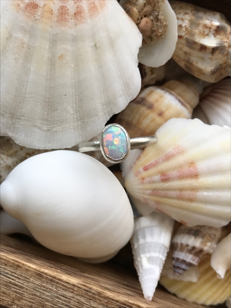 Sea Siren Opal Ring lazy booty  - auraluna | ello