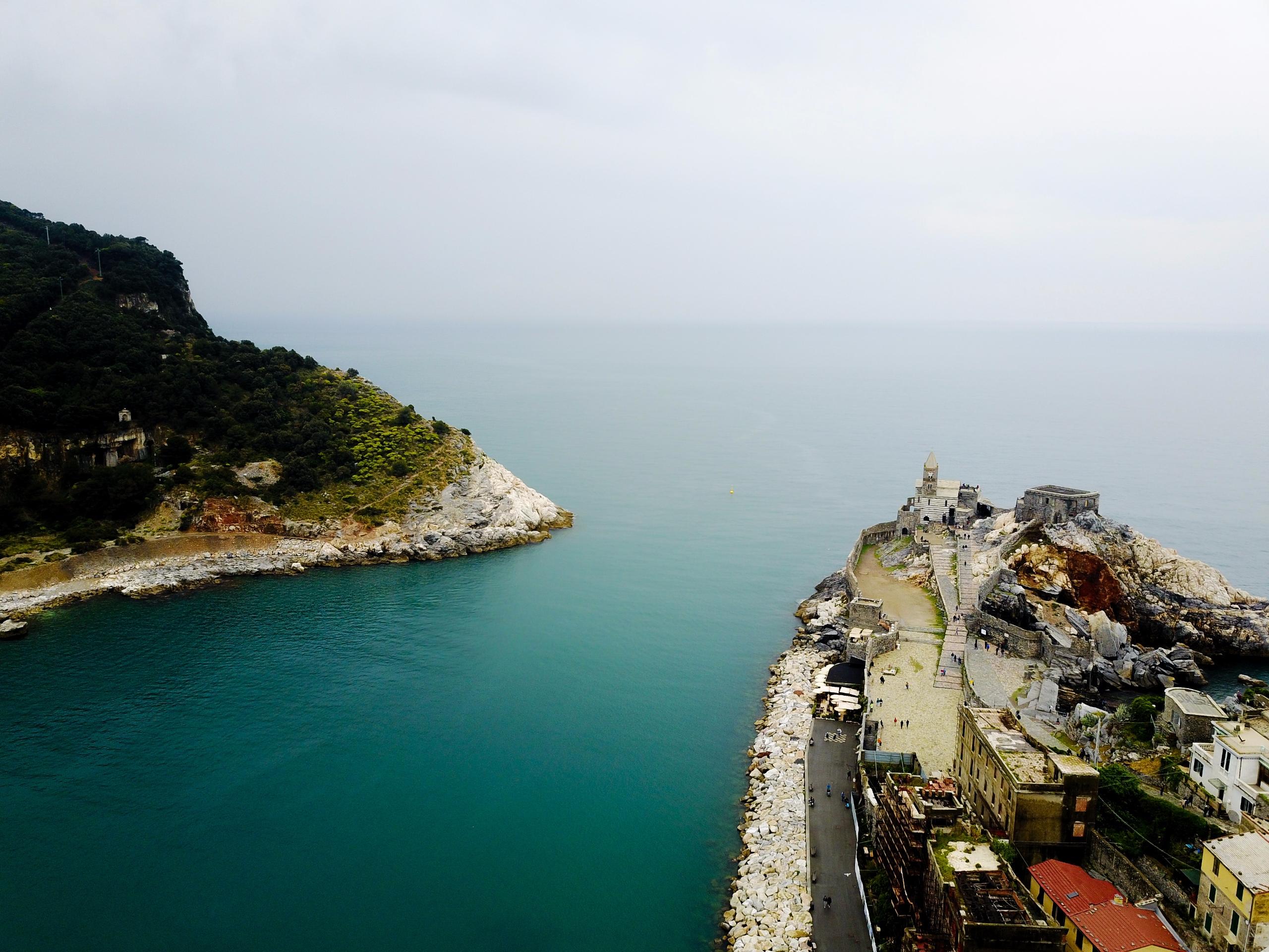 Portovenere, Italy Drone. beaut - jhollaholla | ello