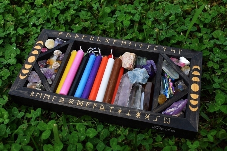 Rune Moon boxes Etsy shop 7PM E - jdrewsilvers | ello