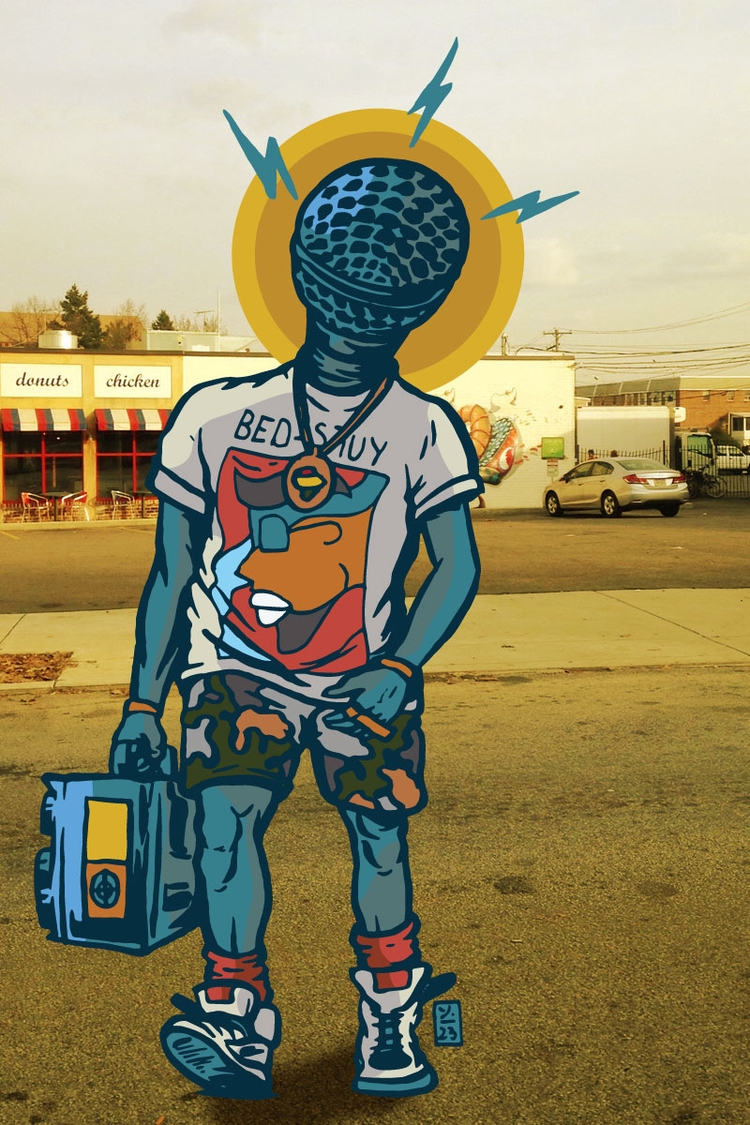 Hip-Hop - illustration - thomcat23 | ello