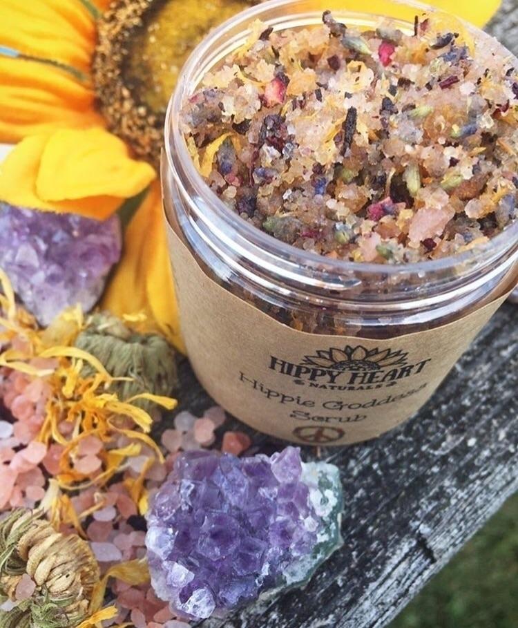 Hippie Goddess Scrub:sparkles:  - hippyheartnaturals | ello