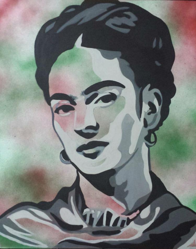 Frida acrylic canvas - omni_art | ello
