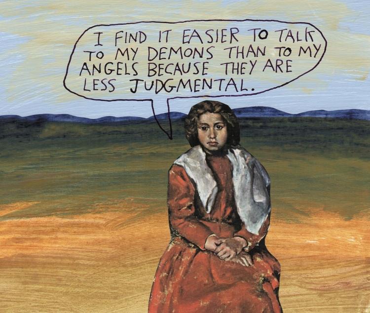 Angels demons talk - angels - stoicmike | ello