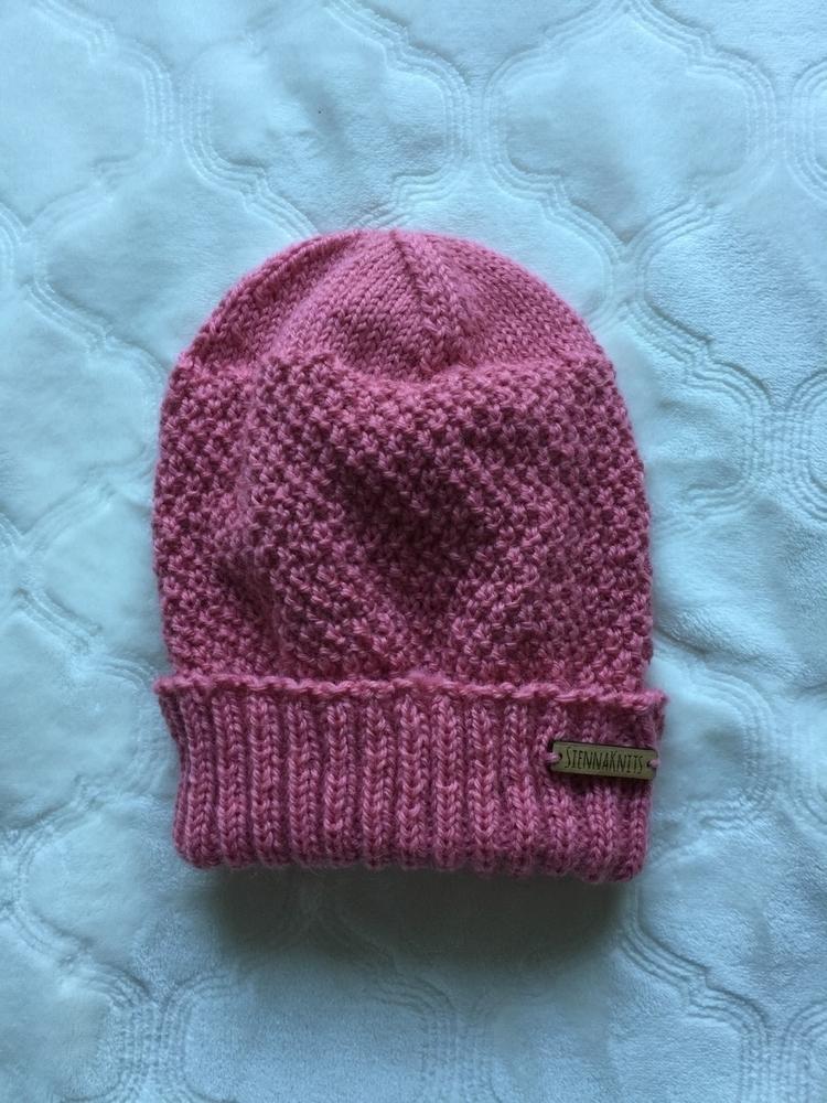 Pink wool beanie ladies. Etsy S - siennaknits | ello