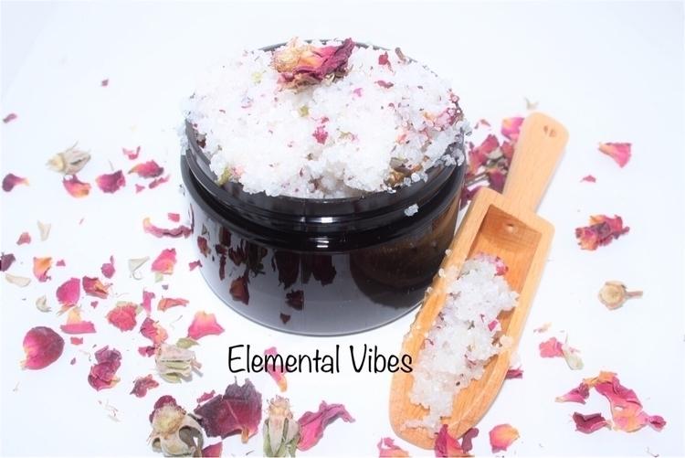 Face Body Scrubs making today - elementalvibes | ello