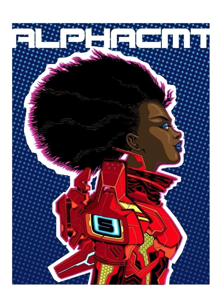 Imaginaut: RED. Comic book insp - alphacmt   ello