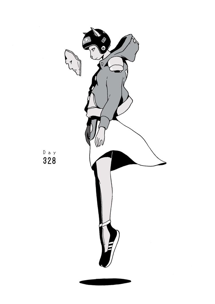 Day 328/365: Catwalk - illustration - 1sles | ello