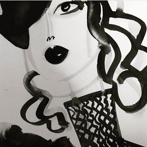 James Dignan Illustration chic  - trafficinc   ello