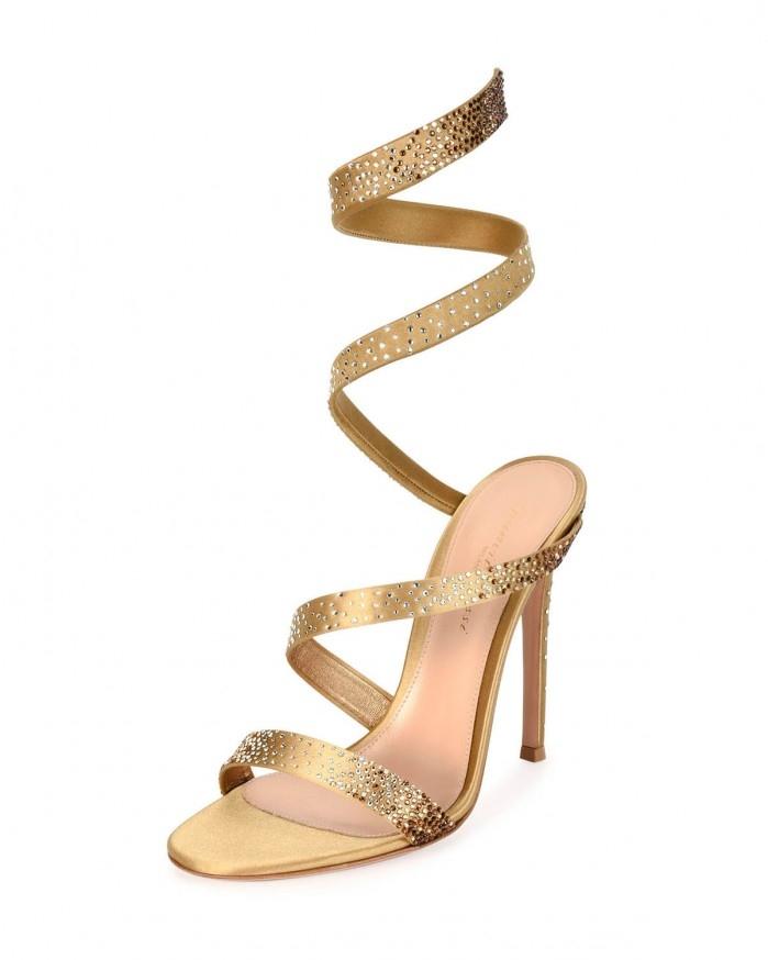 Gianvito Rossi Opera Ankle-Wrap - chalany_high_heels | ello