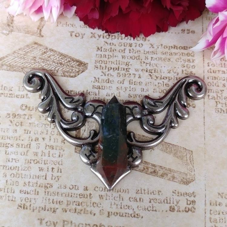 love bloodstone! pretty color p - gnomeshiddentreasure | ello