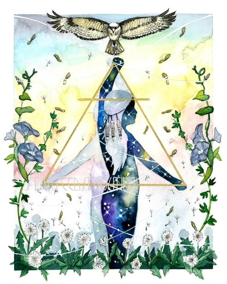 Air elemental art prints shop - Gemini, - starseedsprouting | ello