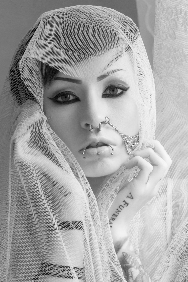 "Eyes"" — Photographer:Christoph - darkbeautymag | ello"