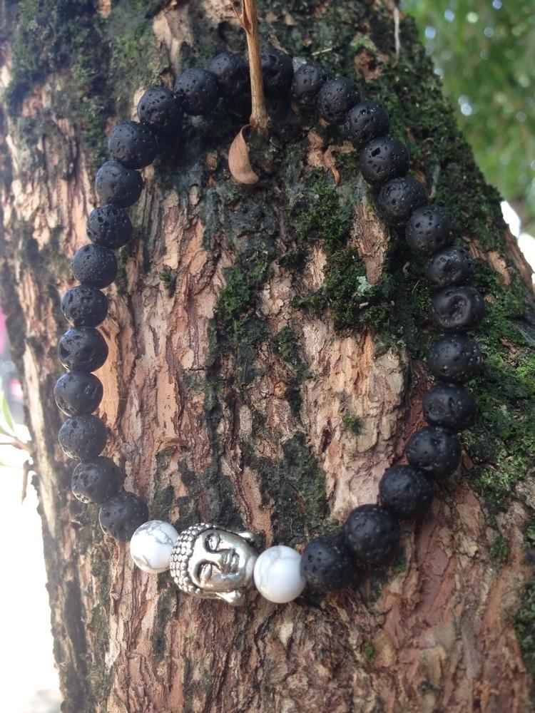 bracelet strength, courage calm - bohoelementsdesigns   ello