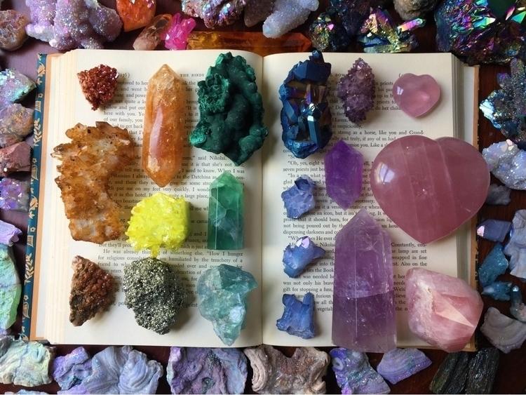 throwback awesome rainbow vibes - cosmicauracrystals   ello