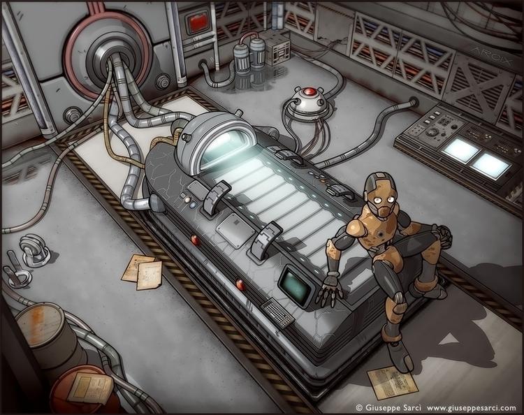 Laboratory! ( 3d cel-shading te - giuseppe3d | ello
