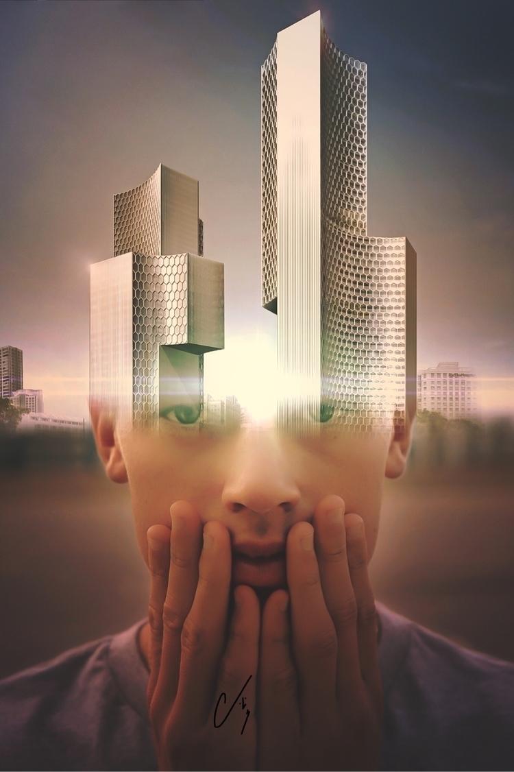Innovation - collageart, digitalart - cashmattock | ello
