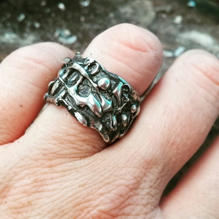 Chunky ring - silverexclusive | ello