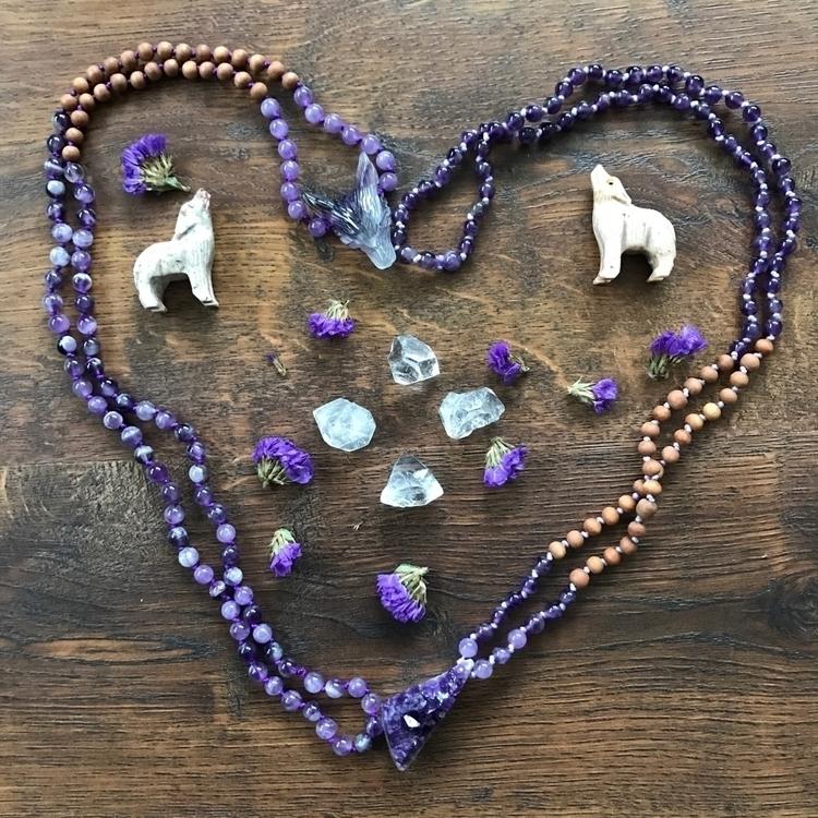 Love + Amethyst - metaphysical, handmade - findyourshakti   ello