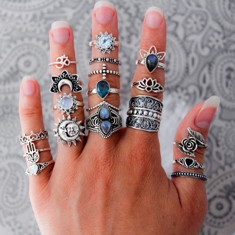 badass collection rings! Shop j - boho_dreamers | ello