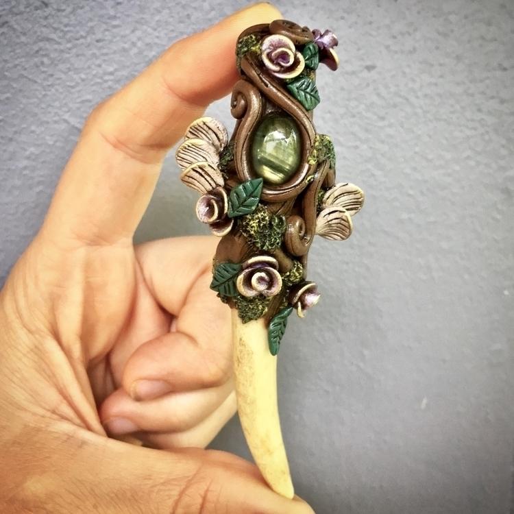 newest art pendants hand sculpt - earthlustdesigns | ello