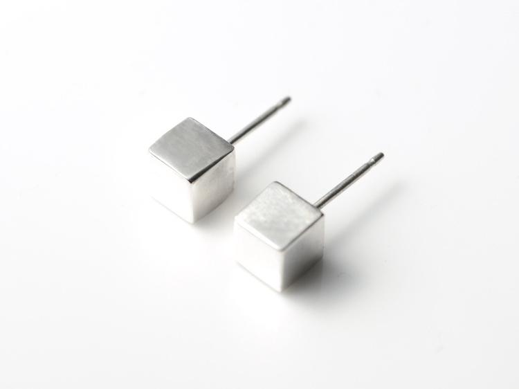 Geometric ear décor - cubist st - mineralrare | ello