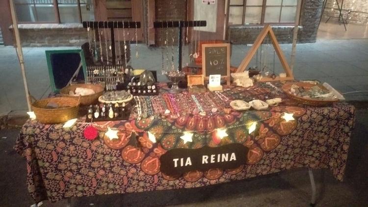 Pomona Artwalk setup - supportsmallbusiness - tiareina | ello