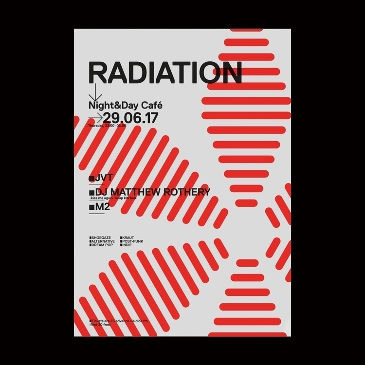RADIATION poster — evening musi - modularlab | ello