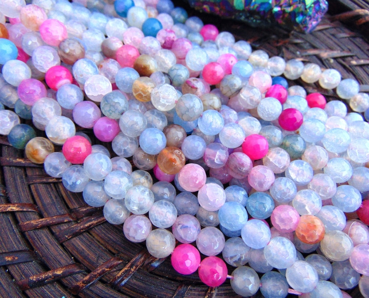 Unicorn agate beads perfect sum - elizcobeads | ello