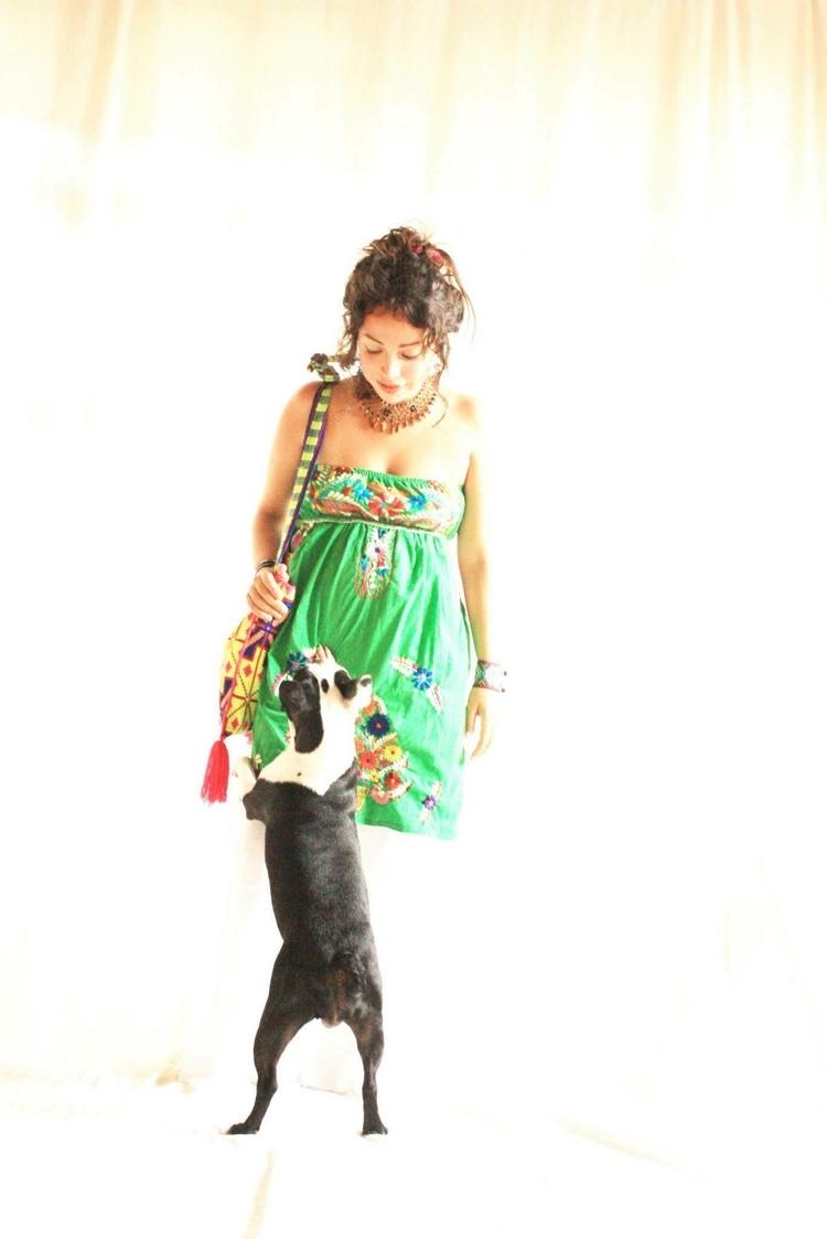 Mexican Dress Hand Embroidered  - aidacoronado | ello