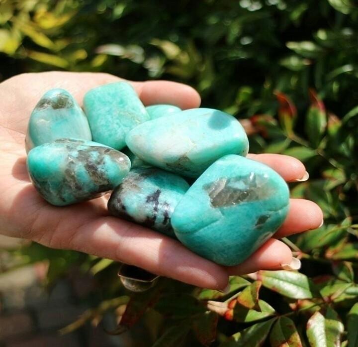 Amazonite favs  - amazonite, stones - wildnocturna | ello