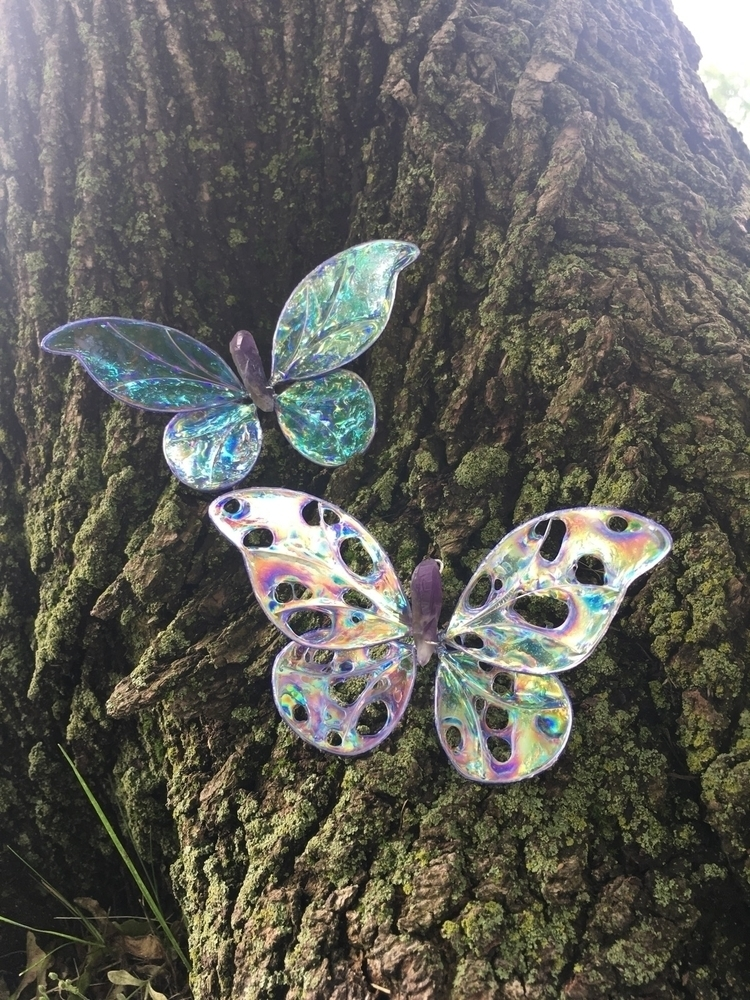 Prismatic Crystal Butterfly Orn - faerieblessings | ello