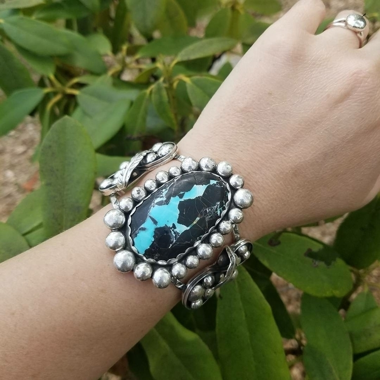 High grade Blue Moon turquoise  - eclecticblingjewelry | ello